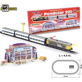 Vonatszett elemes 200x100cm kiegészítőkkel