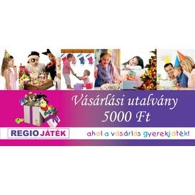 REGIO vásárlási utalvány - 5 000 Ft
