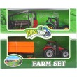 kép nagyítása Lendkerekes traktor utánfutóval 2 darabos készlet - többféle