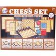 kép nagyítása 5 az 1-ben fa társasjáték és sakk