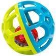 kép nagyítása Csörgő bébi labda - többféle