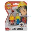 kép nagyítása Sam a tűzoltó 2 figura, 4 féle