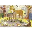 kép nagyítása Boldog állatcsaládok 2 x 12 darabos puzzle