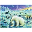 kép nagyítása Sarkvidéki állatok 300 darabos XXL puzzle