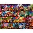 kép nagyítása Könyvek világa 2000 darabos puzzle