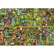 kép nagyítása Varázslatos könyves szekrény 18 000 darabos puzzle