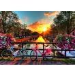 kép nagyítása Amszterdami bicikli túra 1000 darabos puzzle