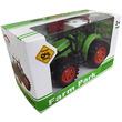 kép nagyítása Zöld műanyag traktor