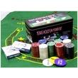 kép nagyítása Póker készlet fémdobozban 200 darab zsetonnal