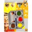 kép nagyítása Clowny 7 darabos arcfestő készlet - többféle