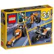 kép nagyítása LEGO® Creator Narancssárga városi motor 31059