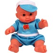 Mini játékbaba kék ruhában - 13 cm Itt egy ajánlat található, a bővebben gombra kattintva, további információkat talál a termékről.