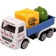 kép nagyítása Fém újrahasznosító teherautó - 7 cm