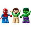 kép nagyítása LEGO® DUPLO Super Heroes Pókember és Hulk 10876