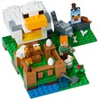 kép nagyítása LEGO® Minecraft Csirkeudvar 21140
