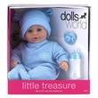 kép nagyítása Little Treasure babzsákos baba kiegészítőkkel - 38 cm