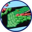 kép nagyítása Funmais dinoszaurusz 170 darabos képkirakó