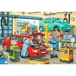kép nagyítása Autószerelő 2 x 24 darabos puzzle