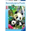kép nagyítása Panda 300 darabos puzzle