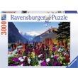 kép nagyítása Virágzó hegyvidék 3000 darabos panoráma puzzle