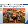 kép nagyítása Puzzle 500 db - Afrikai állatok