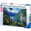 kép nagyítása Puzzle 1000 db - Norvég fjordok