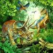 kép nagyítása Dinoszauruszok 3 x 49 darabos puzzle