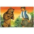 kép nagyítása Róka, medve és a szegényember diafilm 34101342