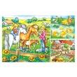 kép nagyítása Farm állatok 3 x 49 darabos puzzle