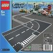 kép nagyítása LEGO City Elágazás & kanyar 7281