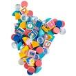 kép nagyítása LEGO® DOTS Extra Csempék - 2. sorozat 41916