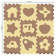 kép nagyítása Ház és autó 9 darabos habszivacs szőnyeg puzzle