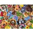 kép nagyítása Puzzle 500 db - Állati arcok