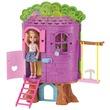 kép nagyítása Barbie Chelsea lombkorona háza készlet