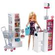 kép nagyítása Barbie szupermarket babával készlet
