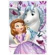 kép nagyítása Puzzle 200 db csillogó - Szófia hercegnő