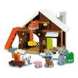 kép nagyítása Állatfarm 93 darabos műanyag építőjáték