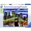 kép nagyítása New York fényei 1500 darabos puzzle