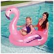 kép nagyítása Flamingó felfújható lovagló - 127 x 127 cm