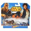 kép nagyítása Hot Wheels Star Wars kisautó 2 darabos készlet - többféle