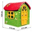 kép nagyítása Méhecskés műanyag játszóház - zöld