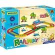 kép nagyítása Wader Kid Cars vasútpálya - 3, 1 m