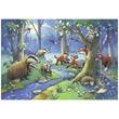 kép nagyítása Az erdő állatai 2 x 24 darabos puzzle