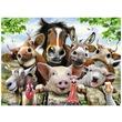 kép nagyítása Mosolygó állatok 300 darabos XXL puzzle