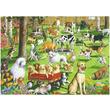 kép nagyítása Puzzle 500 db - A kutya parkban