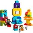 kép nagyítása LEGO® DUPLO Emmet és Lucy látogatói 10895