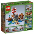 kép nagyítása LEGO® Minecraft A kalózhajós kaland 21152