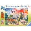 kép nagyítása Dinoszaurusz 100 darabos XXL puzzle