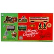 kép nagyítása Elemes vonatpálya - karácsonyi hangulatú