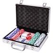 kép nagyítása Póker 200 darabos készlet alumínium bőröndben